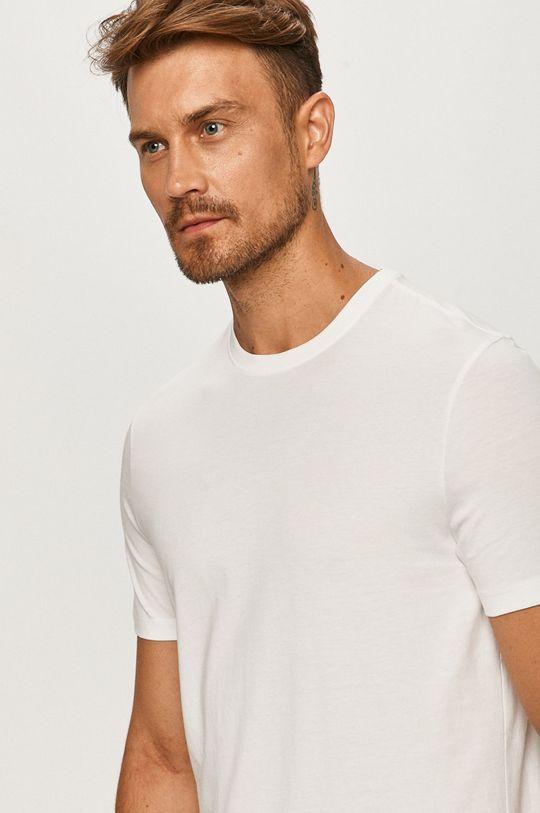 biały Strellson - T-shirt