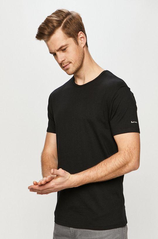 černá Paul Smith - Tričko (3-pack) Pánský