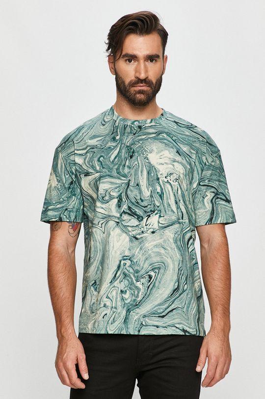 zöld Scotch & Soda - T-shirt Férfi