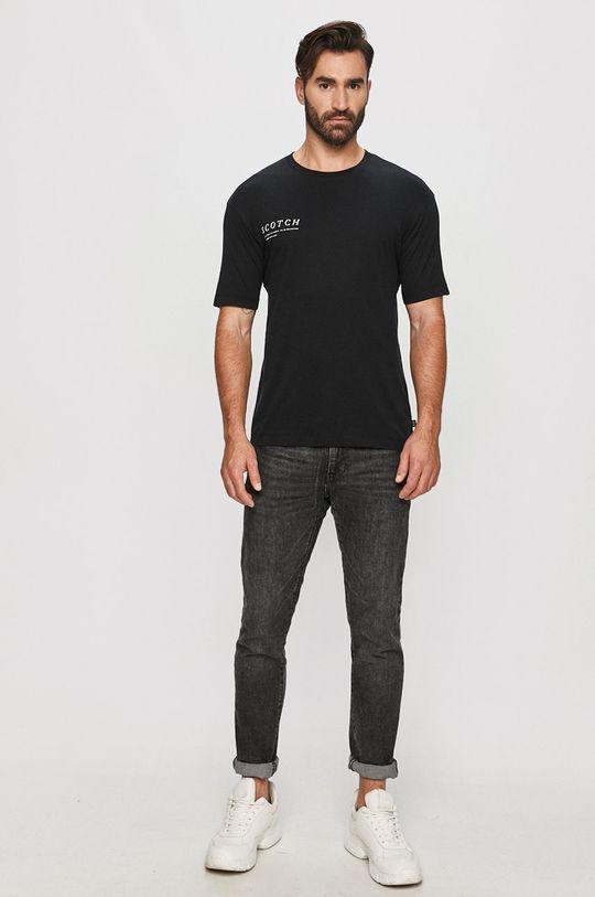 Scotch & Soda - T-shirt czarny