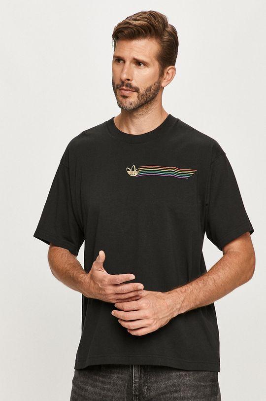 čierna adidas Originals - Tričko