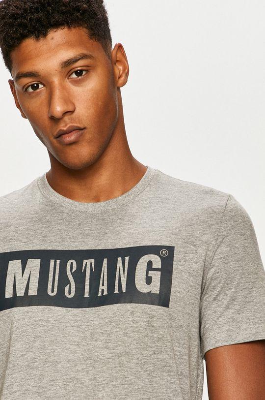 Mustang - Tričko  85% Bavlna, 15% Viskóza