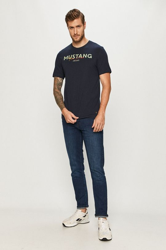 Mustang - Tricou bleumarin
