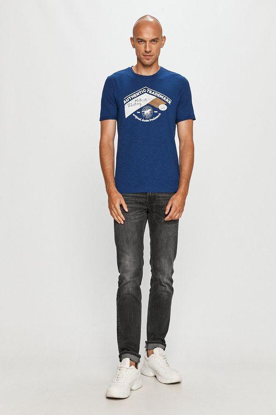 Mustang - Tricou albastru