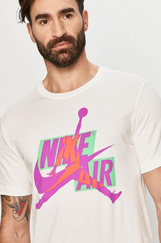 biały Jordan - T-shirt