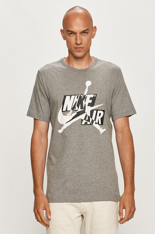 szary Jordan - T-shirt