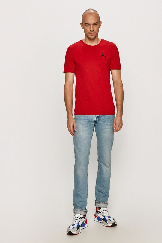 Jordan - T-shirt ostry czerwony