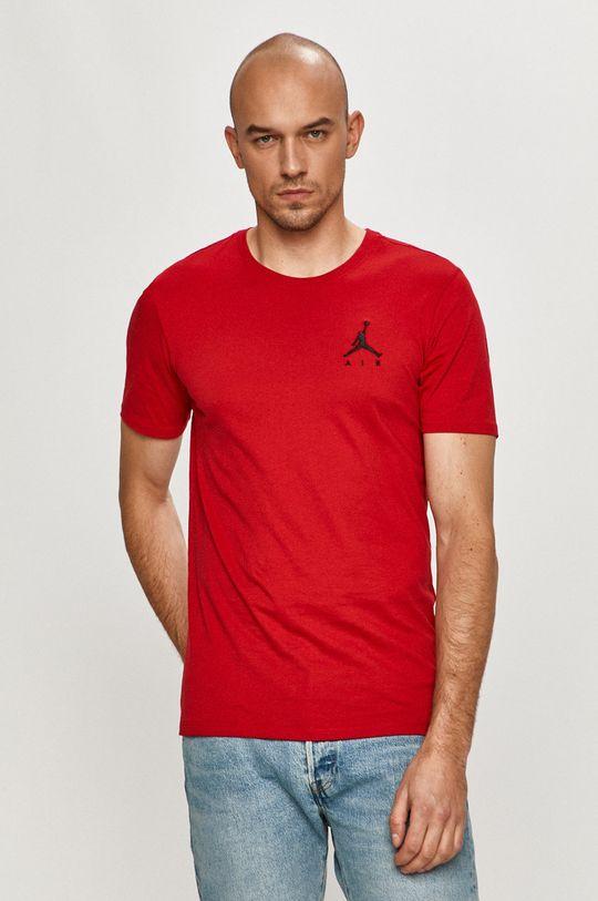 ostry czerwony Jordan - T-shirt