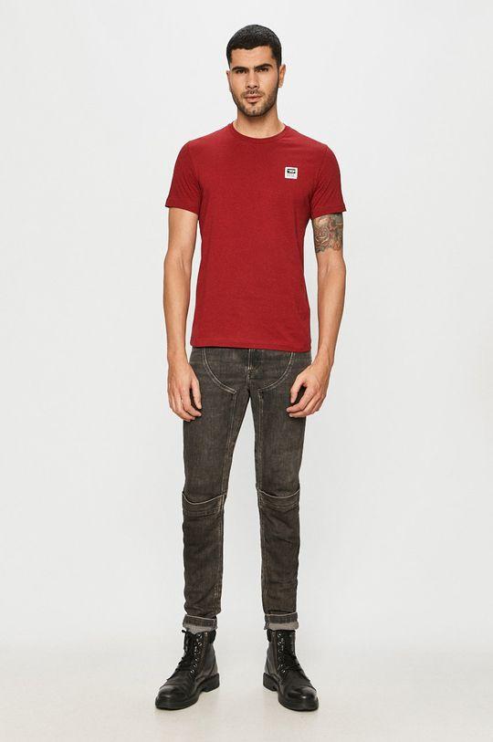 Diesel - Tricou rosu