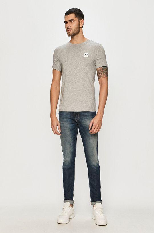 Diesel - T-shirt szary