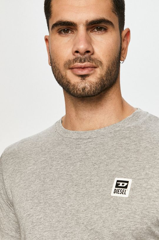 szary Diesel - T-shirt