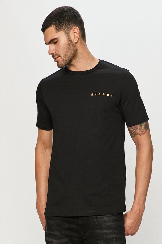 negru Diesel - Tricou De bărbați