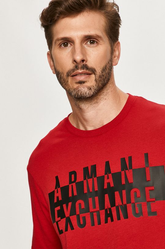 rosu Armani Exchange - Tricou