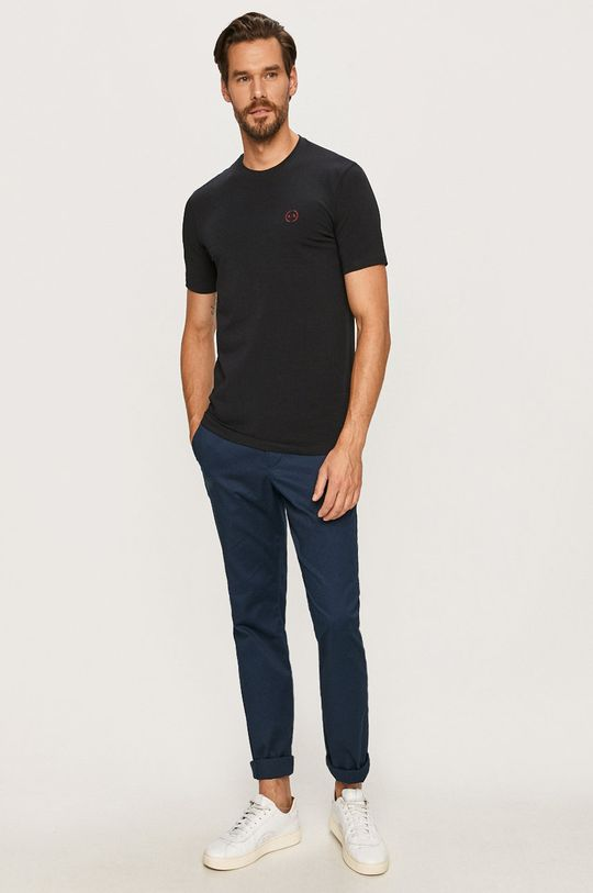 Armani Exchange - Tričko námořnická modř