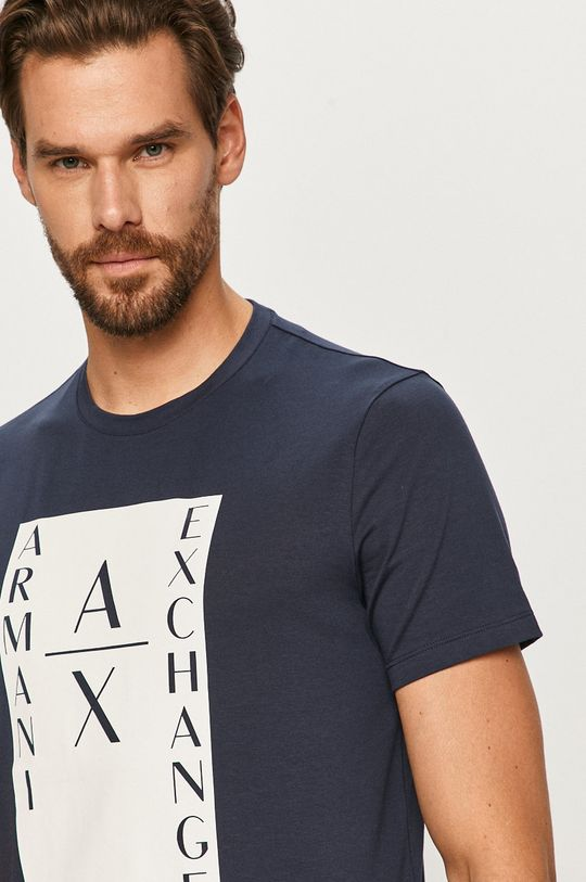 tmavomodrá Armani Exchange - Tričko