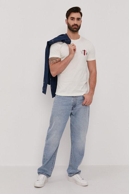 Diesel - T-shirt kremowy