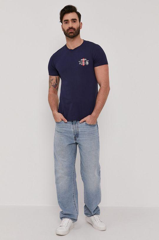 Diesel - Tričko námořnická modř