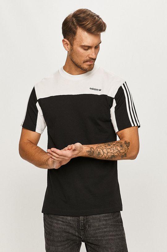 negru adidas Originals - Tricou De bărbați