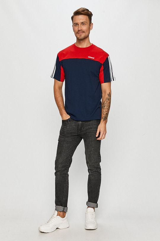 adidas Originals - Tricou bleumarin