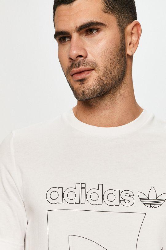 alb adidas Originals - Tricou