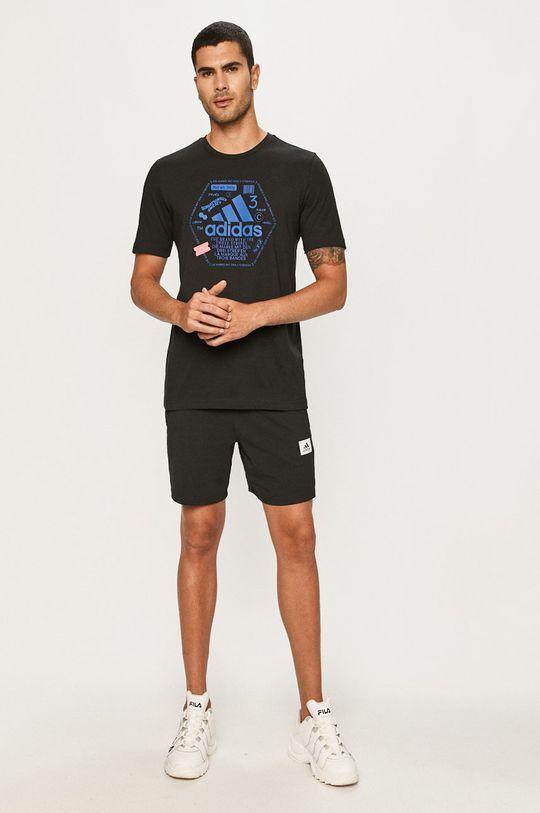 adidas Performance - Tričko čierna