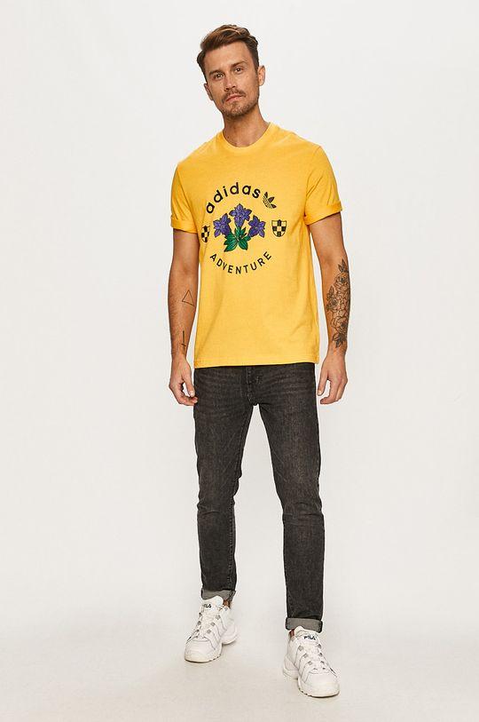 adidas Originals - Tričko žltá