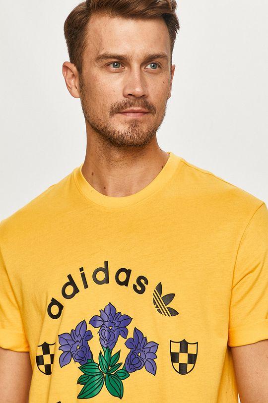 žltá adidas Originals - Tričko