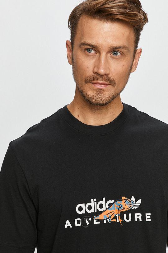 чёрный adidas Originals - Футболка