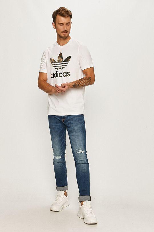adidas Originals - Tricou alb