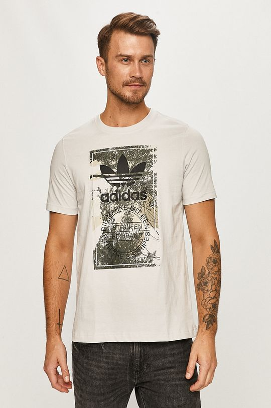gri deschis adidas Originals - Tricou De bărbați