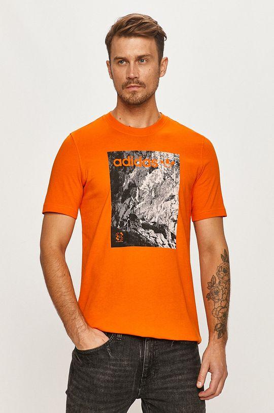 portocaliu adidas Originals - Tricou De bărbați