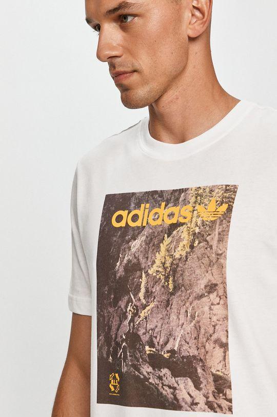 biela adidas Originals - Tričko