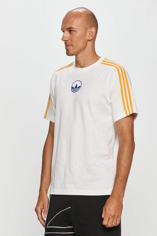 alb adidas Originals - Tricou De bărbați