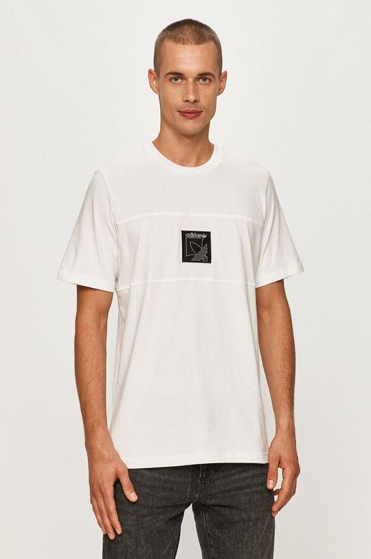 biela adidas Originals - Tričko Pánsky