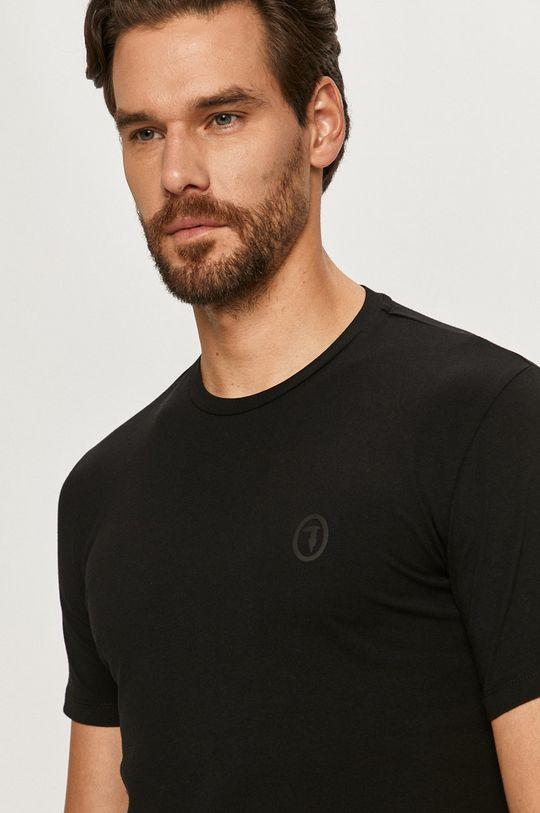czarny Trussardi Jeans - T-shirt