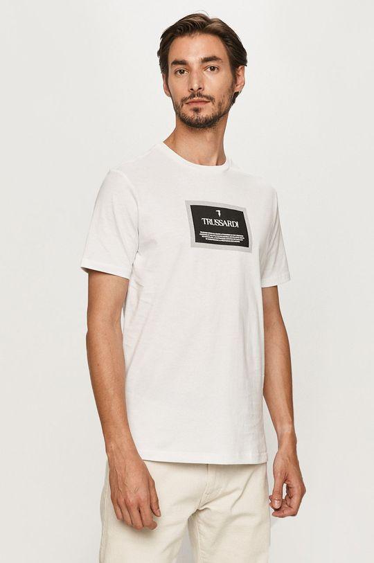 alb Trussardi Jeans - Tricou De bărbați