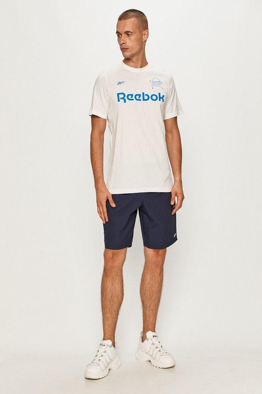Reebok - Tričko biela