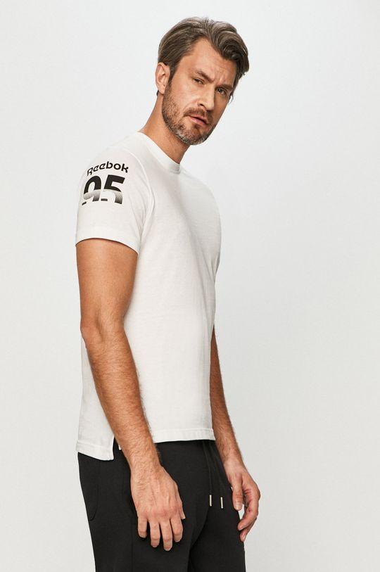 biały Reebok - T-shirt Męski