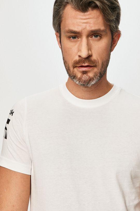 Reebok - T-shirt biały