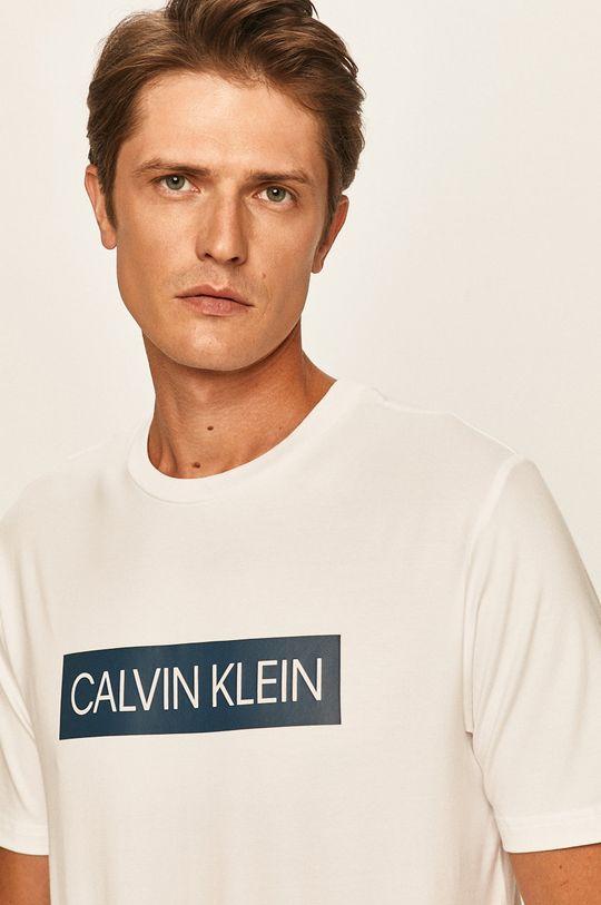 biały Calvin Klein Performance - T-shirt Męski