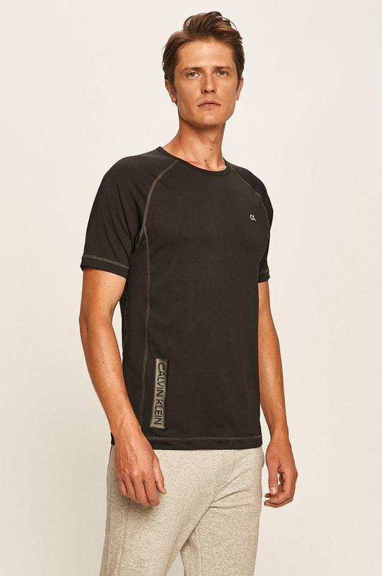 černá Calvin Klein Performance - Tričko Pánský