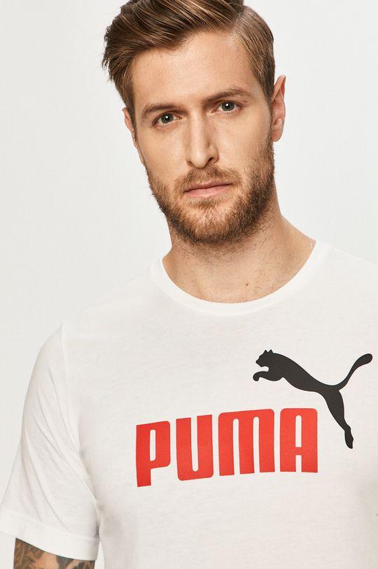 alb Puma - Tricou