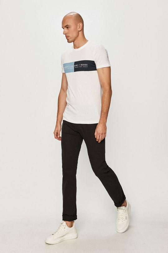 Tom Tailor Denim - Tričko biela