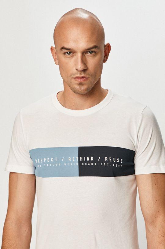 biela Tom Tailor Denim - Tričko
