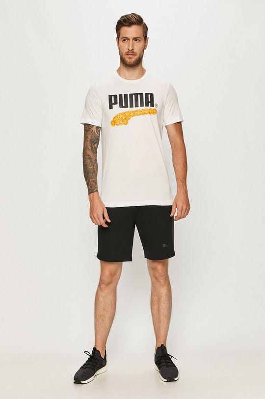 Puma - Tričko bílá