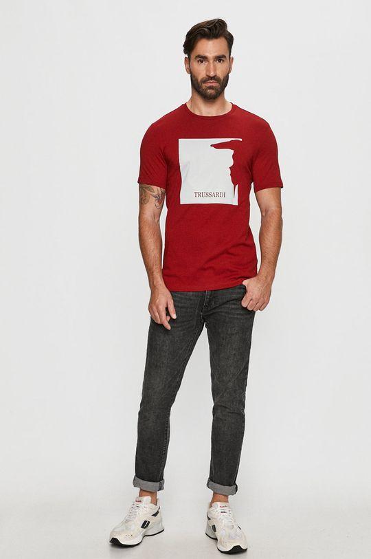 Trussardi Jeans - T-shirt czerwony