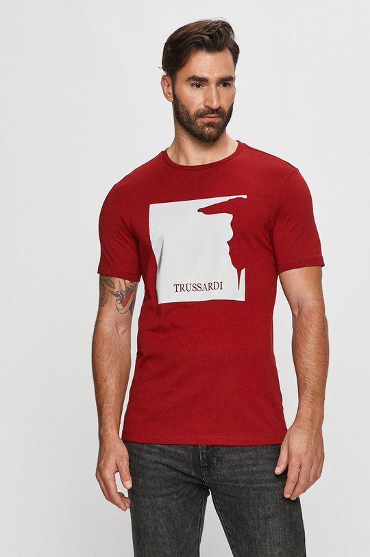 czerwony Trussardi Jeans - T-shirt