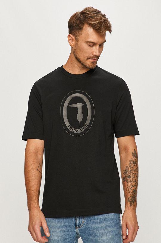 negru Trussardi Jeans - Tricou De bărbați