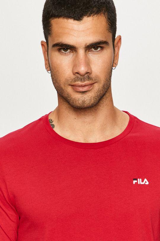 purpurowy Fila - T-shirt