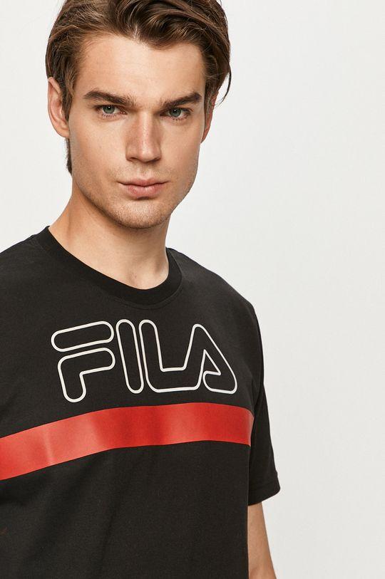 czarny Fila - T-shirt
